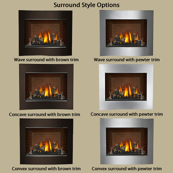 PRO COM WALL MOUNT VENT FREE GAS FIREPLACE – Fireplaces