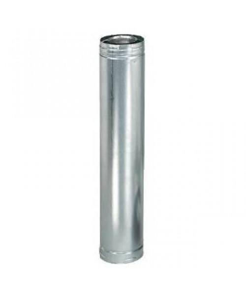"Monessen 58DVA Pipe in Galvanized with 5"" x 8"" Inner Diameter"