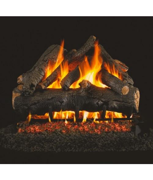peterson american oak real fyre gas logs fastfireplaces com rh fastfireplaces com