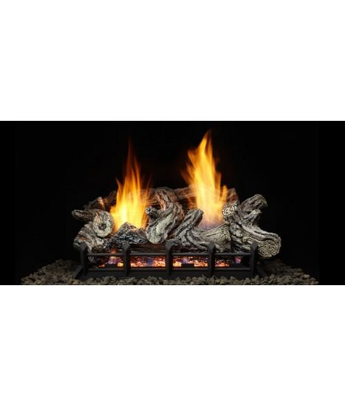 Monessen Riverwood (Driftwood) Vent-Free Gas Log Set