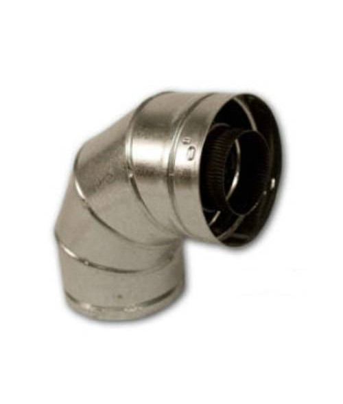 Superior Secure Vent Direct Vent 90 degree elbow 4.5 x 7.5