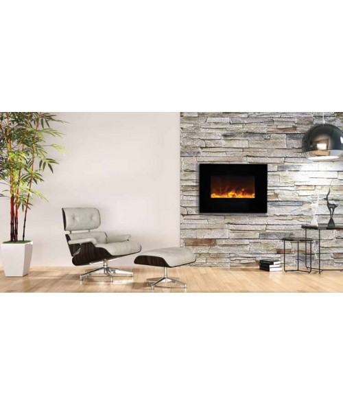 Amantii 26 Quot Wall Mount Flush Mount Electric Fireplace