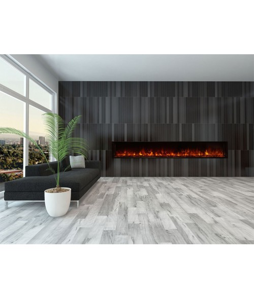 "Modern Flames Landscape Full-View 100""  Electric Fireplace"