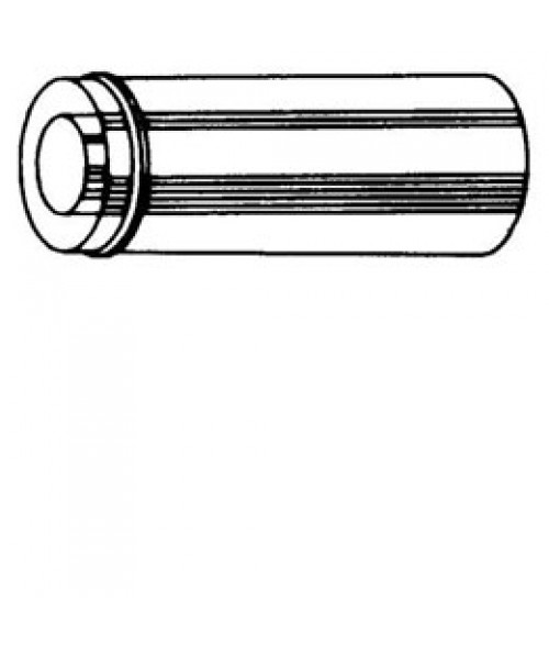 FMI/Superior Double Wall Pipe Snap Lock - 12 inch Chimney