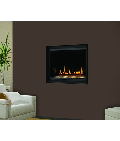 Napoleon BGD36CFG Crystallo Direct Vent Wall Mount Gas Fireplace