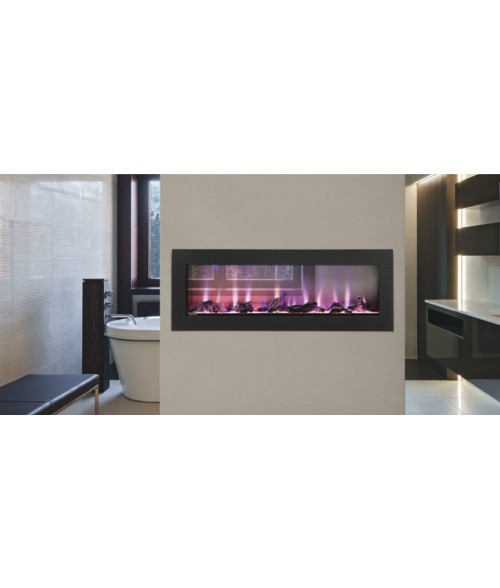 "Napoleon CLEARion 50"" See Thru Electric Fireplace"