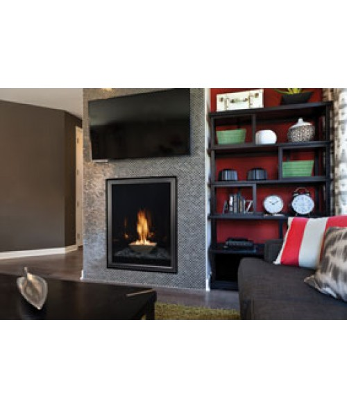 Forest Hills Portrait-Style Contemporary Direct-Vent Fireplace