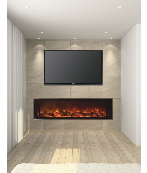"Modern Flames Landscape Full-View 80""  Electric Fireplace"