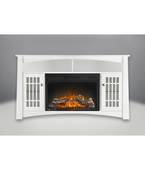 "Napoleon Cinema 27"" Electric Fireplace with Adele Mantel"