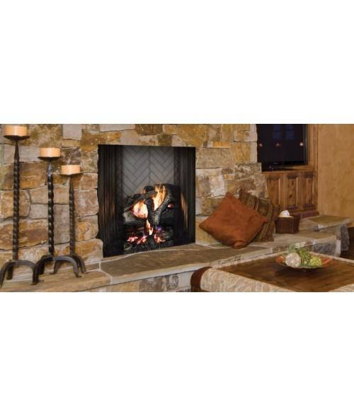 """Majestic Ashland 42"""" Wood Burning Fireplace"""