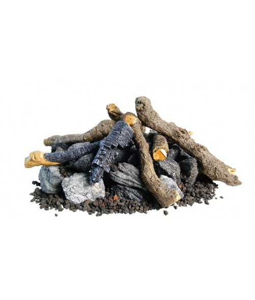Peterson Beachwood OUTDOOR gas log set with Burner