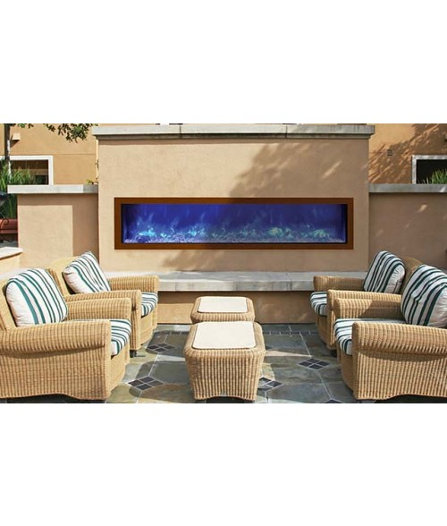 Amantii Panorama 72″ Slim Indoor or Outdoor Electric Fireplace
