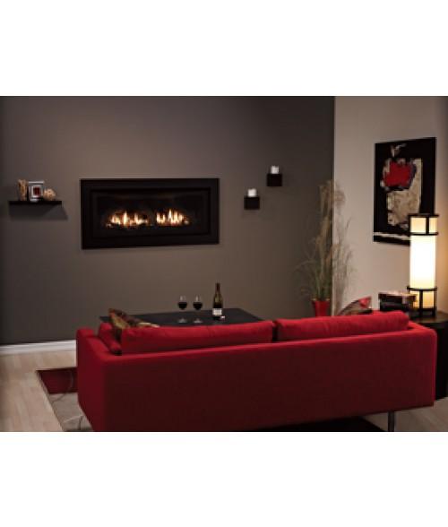 "Empire Boulevard 41"" Contemporary Direct-Vent Fireplace"