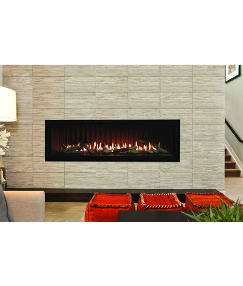 "Empire Boulevard 48"" Direct-Vent Linear Fireplace"