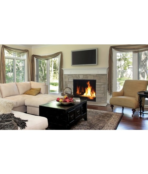 "Superior DRC6300 Direct-Vent Contemporary Gas Fireplace (40"" or 45"")"