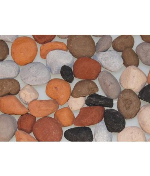 Ceramic Fiber Decorative Rocks - Pebble Assortment
