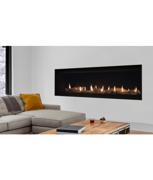 Superior DRL4084 Direct-vent Liner Fireplace - 84""