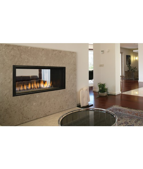 "Superior DRL4543 43"" See-Thru Direct Vent Linear Gas Fireplace (Indoor or Indoor/Outdoor)"