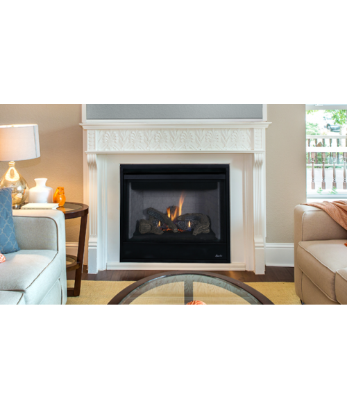"Superior DRT2000 Series Direct-Vent Gas Fireplace. (35"" 40"" or 45"")"