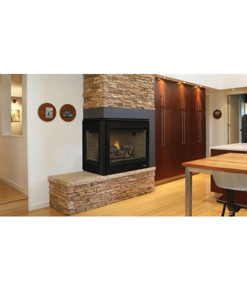 "Superior DRT40C Direct Vent Corner Fireplace (40"")"