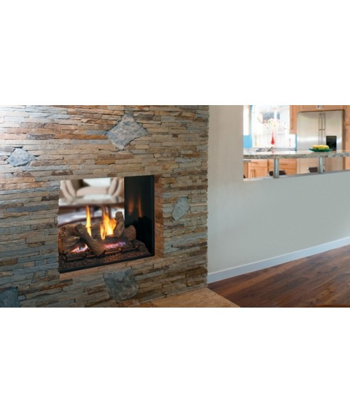Superior DRT63ST Series Direct Vent See-thru Fireplace