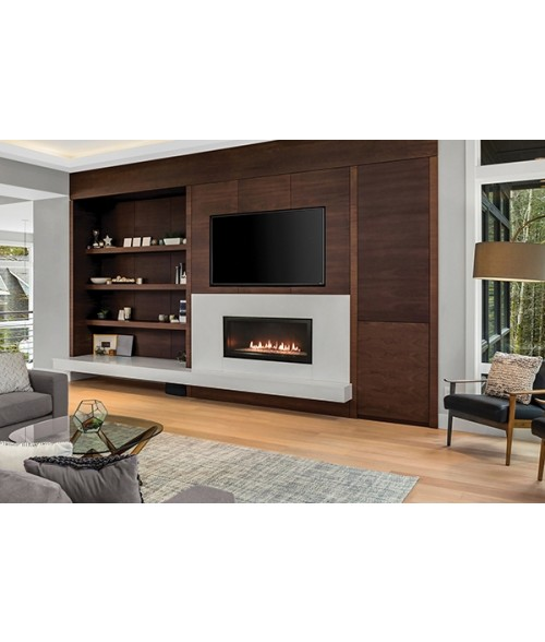 "Empire Boulevard 36"" Direct-Vent Linear Gas Fireplace"