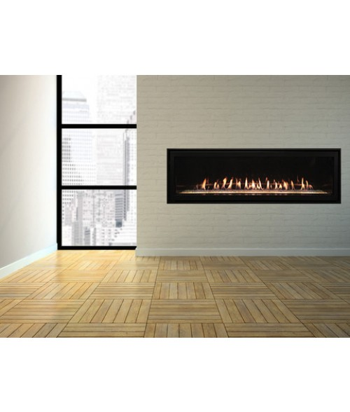 "Empire Boulevard 60"" Direct-Vent Fireplace"