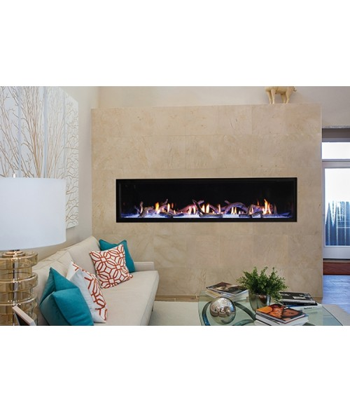 "Empire Boulevard 72"" Direct-vent Linear Gas Fireplace"