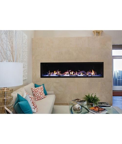 "Empire Boulevard 72"" Direct-vent Linear Gas Fireplace"