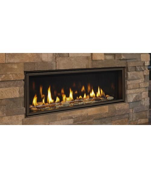 "Majestic Echelon II 36"" Direct Vent Linear Gas Fireplace"