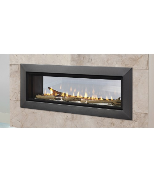 "Majestic Echelon II See Through Direct Vent Gas Fireplace - (36"" or 48"")"