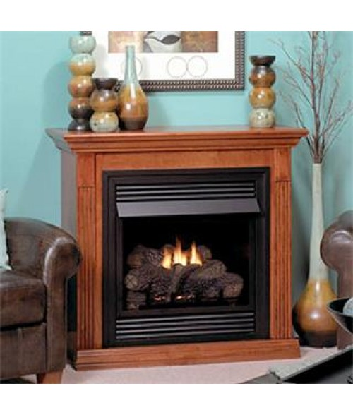 "Empire Vail 26"" Vent-Free Special Edition Fireplace/Mantel Combination"