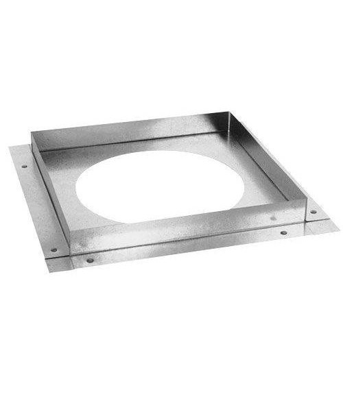 Empire Galvanized Ceiling Firestop  (4 x 6 5/8)