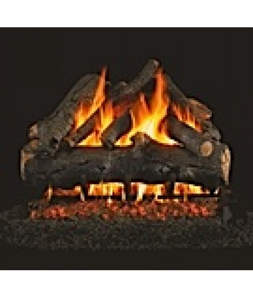 Peterson REAL FYRE American Oak Vented Gas Log Set with ANSI-Certified G45 G46 Burner