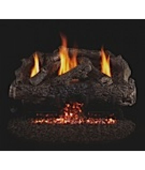 Peterson REAL FYRE Charred Frontier Oak Vent-Free Gas Logs