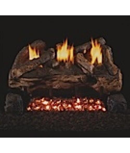 Peterson REAL FYRE Evening Fyre Split Vent-Free Gas Logs
