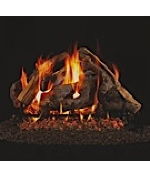 Peterson REAL FYRE Woodstack Vented Gas Log Set with G45 Burner