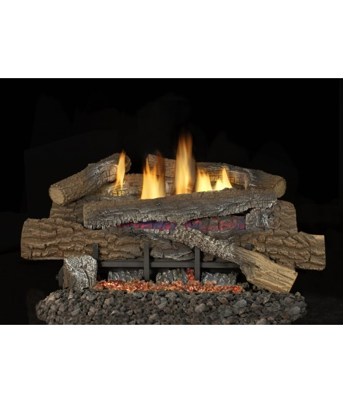 Superior Boulder Mountain Vent-Free Gas Log Set (Ramp burner w/ loose Embers)