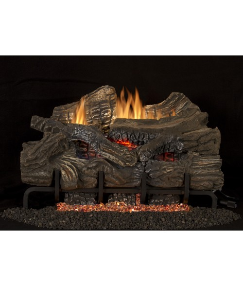 Vantage Hearth Smokey Mountain Vent-Free Gas Log Set (Ramp Burner w/ Loose Embers)