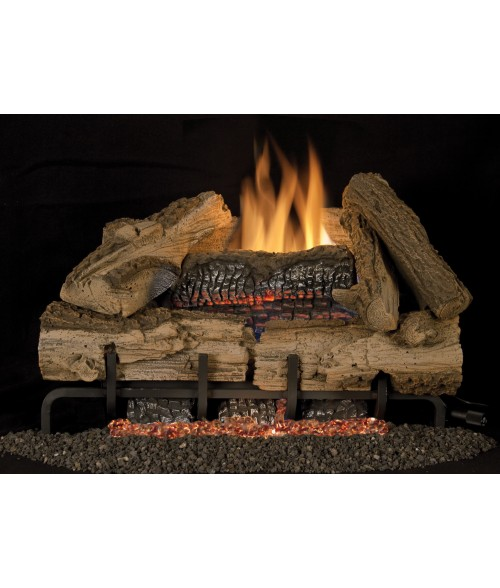 Vantage Hearth Rocky Mountain Vent-Free Gas Log Set (Ramp Burner w/ loose Embers)