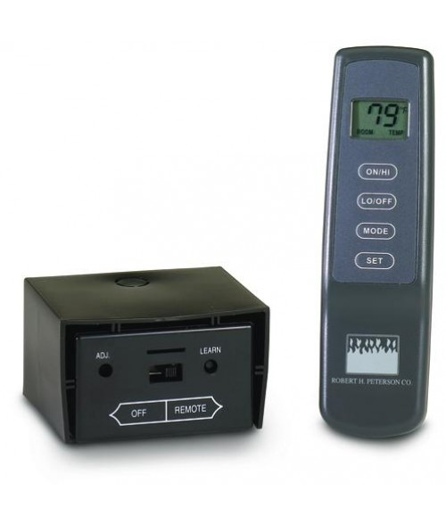 Peterson Real Fyre VR-2A Variable Flame Height Thermostatic On/Off Remote with Receiver for -15 & -17 Pilot Kits ONLY