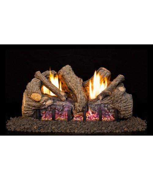 RH Peterson Real Fyre G19 Vent Free Foothill Oak Gas Log Set