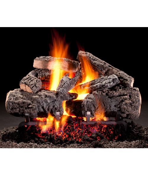 Hargrove Cross Timbers Vented Gas Log Set with Burner