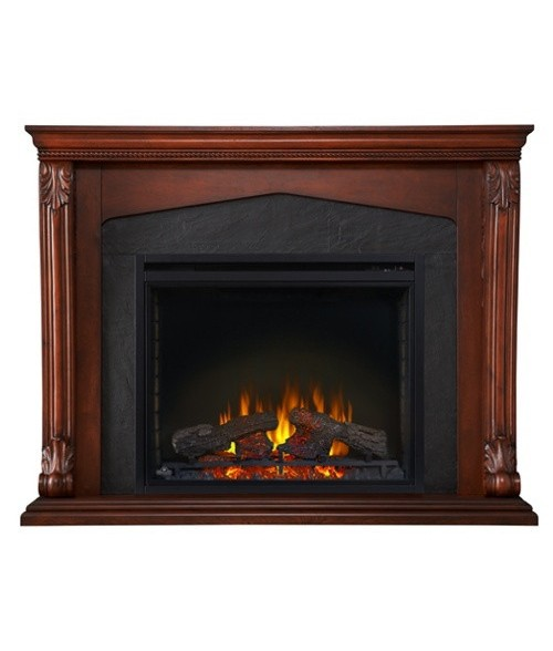 "Napoleon 33"" Electric Firebox with Monroe Mantel"