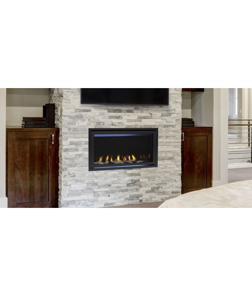 "Majestic Jade Direct Vent Linear Gas Fireplace (32"" or 42"")"