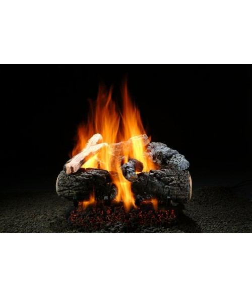 Hargrove Magnificent Inferno Vented Gas Log Set with Burner