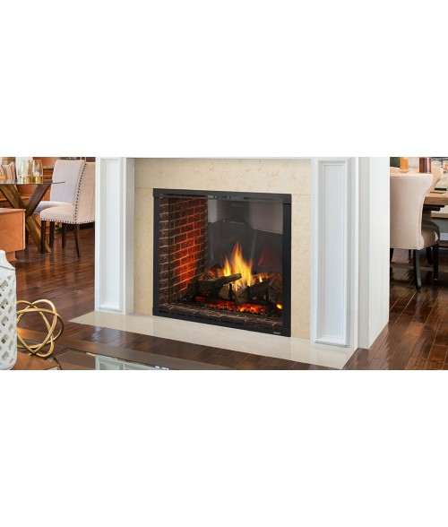 "Majestic Marquis II 42"" See-Thru Direct Vent Fireplace"