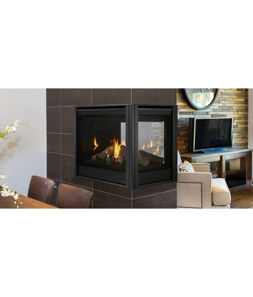 Majestic Pearl II Peninsula Direct Vent Gas Fireplace - 36""