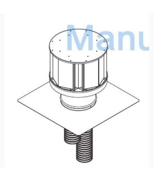 Majestic Direct Vent Insert Termination Kit - LINK-DV4-30B