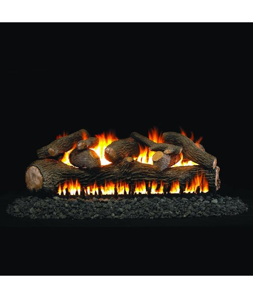 Peterson Real Fyre Mammoth Pine Extra Large Log Set With Vented EPIC Burner